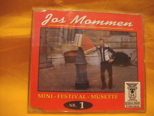 MAXI Single CD JOS MOMMEN Mini Festival Musette nr.1 4TR wals tango paso-doble