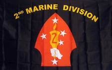 Marines 2 ND Division Flag 3� x 5� Banner