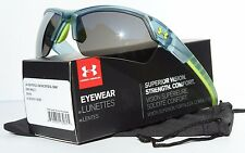 UNDER ARMOUR Igniter 2.0 Sunglasses Satin Crystal/Gray Multi NEW Sport/Cycle