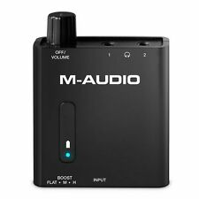 M Audio Bass Traveler Portable Headphone Amplifier