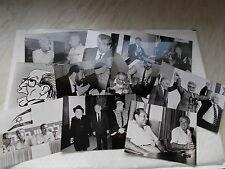 A Large Quantity of B&W Real Photographs Of ISRAELI POLITICIANS -See Slideshow
