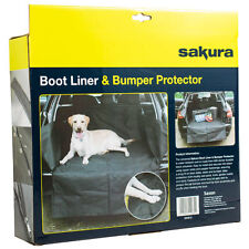 Heavy Duty Water Resistant Car Boot Liner Lip Protector Dirt Pet Dog Cover Mat -