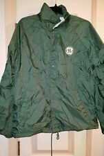 GE General Electric Green Jacket Mens Size Large