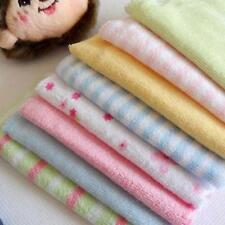 8Stk Baby Spucktuch Spucktücher Baumwolletücher zufällig Farbe Gesicht Handtuch