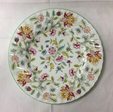"MINTON ""HADDON HALL"" DINNER PLATE 10 3/4"" FLORAL BONE CHINA MADE IN ENGLAND NEW"