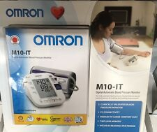 Omron M10-IT Automatic Digital Hypertension Blood Pressure Monitor & PC Bi-Link