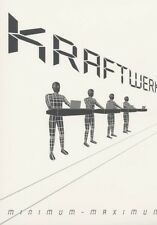 KRAFTWERK - MINIMUM-MAXIMUM ENGLISH VERSION 2 DVD POP ELECTRO AMBIENT NEU