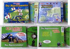 DIE ALPENRAMMLER Alles wunderbar / Lieschen, Lieschen .. 2 x Fetenhits Maxi CD