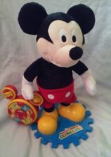 "Disney Mickey Mouse Clubhouse Italian Singing Dancing 13.5"" Plush Standing Doll"