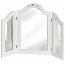WHITE ROOM DRESSING TABLE MIRROR - THIS LOVELY ACCESSORY WILL BRIGHTEN UP HOME.