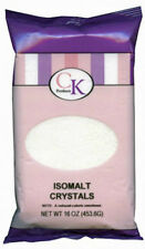 New CK Products Isomalt Crystals for Hard Candy Making Sugar Substitue 16 oz Pkg
