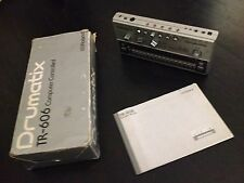 Roland TR-606 Drumatix Analog Drum Machine + Manual & Box + Individual Out Mod
