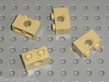 4 briques lego technic Tan ref 3700 / Set 7327 10195 75050 70164 7662 710036 ...