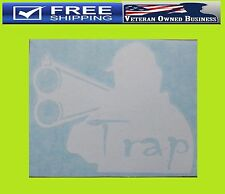 TRAP SPORT CLAYS SKEET SHOOTING DECAL STICKER Shoot Gun Benelli Shotgun Pull