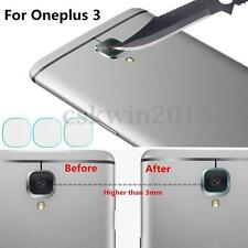 3Pcs Back Camera Tempered Glass Lens Screen Protector + Tweezer For Oneplus 3