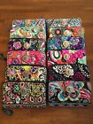 NWT-Authentic Vera Bradley-New Colors Added-Turn Lock Wallet