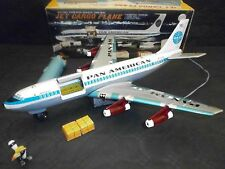 JET CARGO PLANE , BOEING PAN AMERICAN , MARX TOYS , AIRPLANE JAPAN ,1964,VIDEO