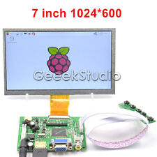 7 inch 1024*600 TFT LCD Display Driver Board HDMI VGA 2AV for Raspberry Pi
