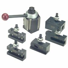 PHASE II  100 WST 6 Piece Quick Change Tool Post Set - LATHE SWING : 9''- 12''