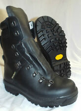 BLACK LEATHER ECW EXTREME COLD WET WEATHER GORE-TEX BOOTS -  6 Large