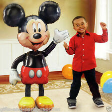 "Mickey Mouse Jumbo 52""AirWalker Foil Balloon Birthday Party Supplies Decoration"