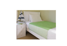 NEW BROLLY SHEETS KING SINGLE SIZE BED PAD LIME PROTECTIVE BEDWETTING ABSORBENT