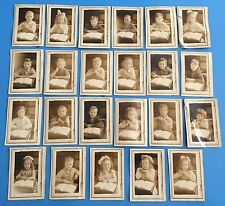 *Original* LOT OF 23 SCHOOL PHOTOGRAPHS 1920's GIRLS & BOYS AT THEIR DESKS Names