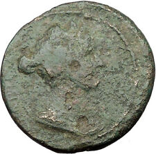 Sabina wife of Hadrian Very Rare Ancient Roman Coin Zeus Ammon i32563