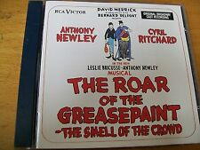 ROAR OF THE GREASEPAINT -THE SMELL OF THE CROWD O.S.T. CD MINT-