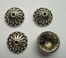 20pcs beautiful Tibet silver Flower End Beads Caps 5x13mm