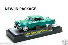 M07  31500 04  M2 MACHINES AUTO THENTICS 1955 DODGE ROYAL LANCER 1:64