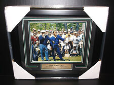1966 MASTERS CHAMPION BEN HOGAN & ARNOLD PALMER 8X10 PHOTO FRAMED GOLF LEGENDS