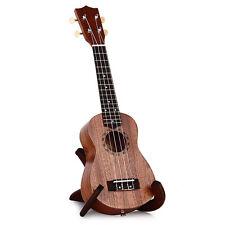 """21"""" 15 Frets Soprano Ukulele Sapele Hawaii Guitar Wood-Made Musical Instruments"""