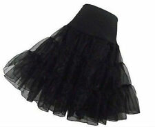 Plus Size Black Petticoat Crinoline Underskirt Bridal Wedding Dress Skirt Slips