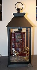 Dollhouse Miniature Halloween Lantern Scene Curio Wine Cat 1:12 1 inch scale  W