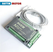 4 Axis 200KHz NVEM Motion Controller Ethernet Mach3 Card Breakout Board for CNC