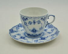 Royal Copenhagen Vollspitze Blue fluted full lace - Kaffeetasse coffee-cup