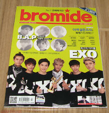 BROMIDE EXO B1A4 B.A.P GOT7 VIXX K-POP MAGAZINE 2014 MAR MARCH NEW