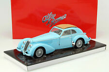 Alfa Romeo 8C 2900 B Lungo Year 1938 light blue 1:18 Minichamps