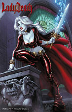 "Lady Death Killers #1 ""Scarlett"" MegaCon  Ltd. 99 Comic Book With Cover Crystals"