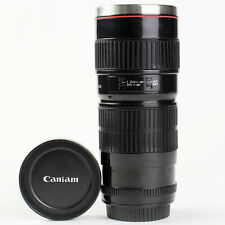 New Camera Lens Shaped EF 70-200mm Drink Thermos Coffee Cup Mug US SELLER
