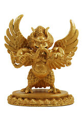 Garuda 24 Carat Gold Plated Statue 3.5 inches