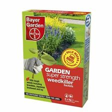 Bayer Super Strength Glyphosate - 6 Sachet Weed Killer - Very Strong Weedkiller