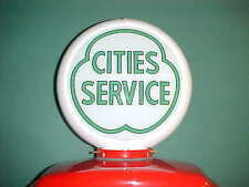 CITIES SERVICE (GREEN) GAS PUMP GLOBE