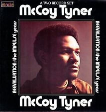 McCOY TYNER Reevaluation The Impulse Years 1973 Vinile M- vedi note tabella 2 LP
