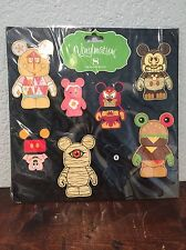 Disney Vinylmation Mickey Mouse Magnet Set  Of 8 Collectible Decorative Magnets