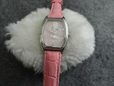 Pretty Quartz Ladies Watch with a Leather Band