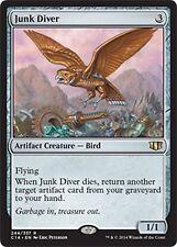 Junk Diver  X4 NM Commander 2014  MTG  Magic Cards  Artifact   Rare