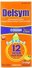3 Pack - Delsym 12 Hour Cough Relief Children/Adults Orange 5 oz