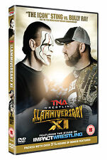 New & Sealed TNA Slammiversary XI 2013 DVD (2 Discs) Hardy, Angle, Sting, Bully